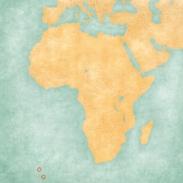 Map of Africa - Tristan da Cunha
